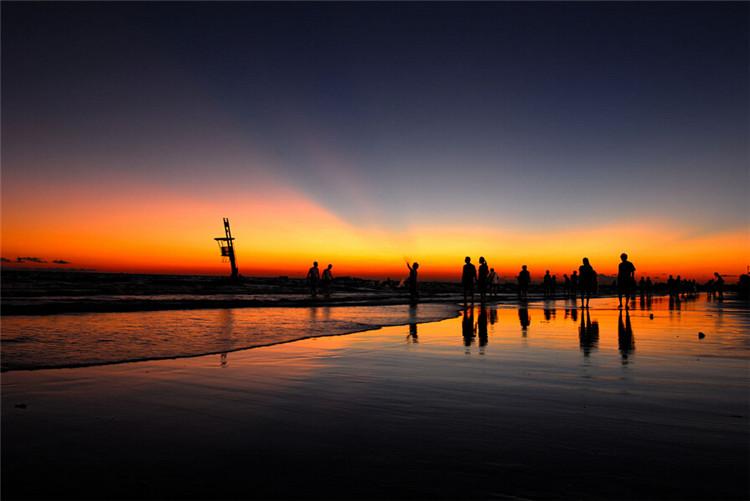 春节北海涠州岛(斜阳岛) 南国星岛湖《水浒传》水泊梁山场景地 银滩